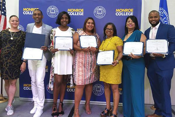 Dennelisse's CASAC Graduates.